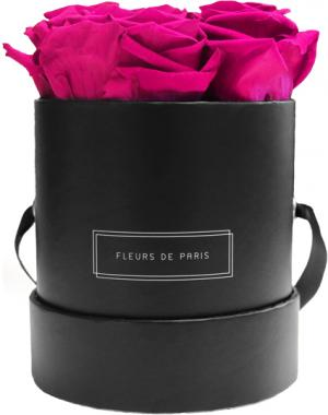 Collection Infinity Hot Pink Petit noir - rond