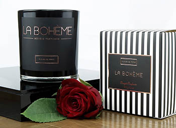 Fleurs de Paris Candle Collection Boheme